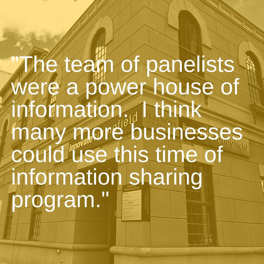 Panel Testimony