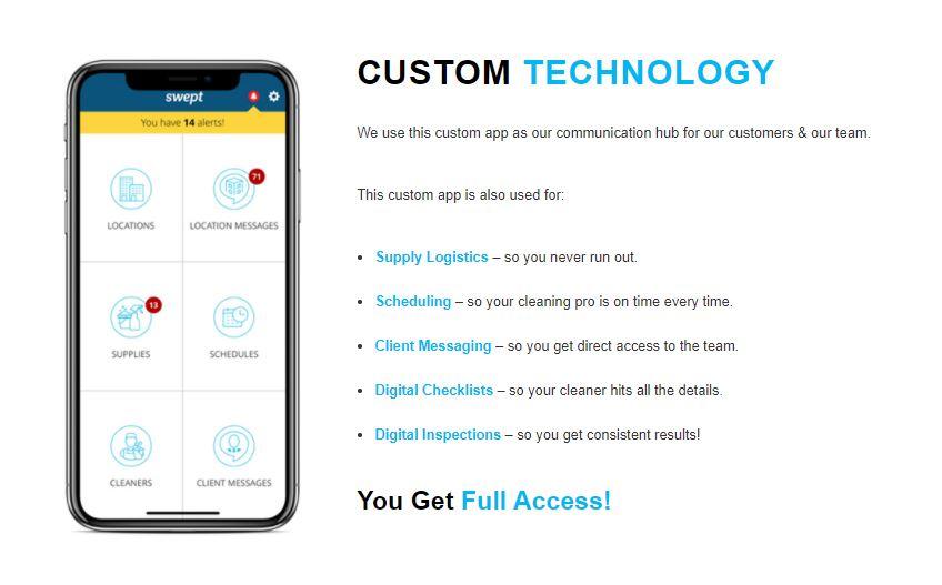 Clean Impact Custom Technology