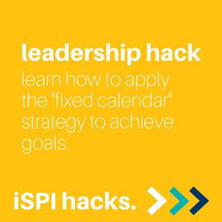 iSPI Leadership Hack