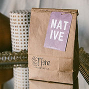 Bag of NATIVE ground coffee