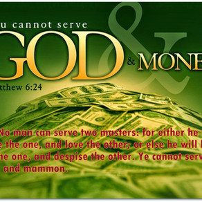 God or mammon?