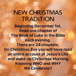 New Christmas Tradition