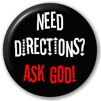 ...ask God