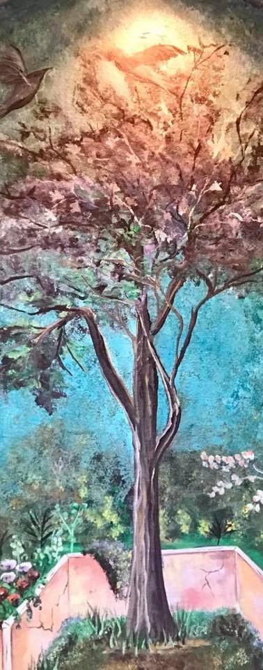 Garden Tree Mural