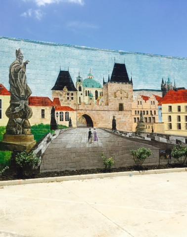 Czech Museum Mural