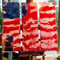 """Abstract """"The Price of Liberty"""""""