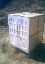 prono bio toilet installation