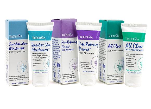 Healthy Beauty Skin Care (14gr, 14gr, 15ml) – Bundle