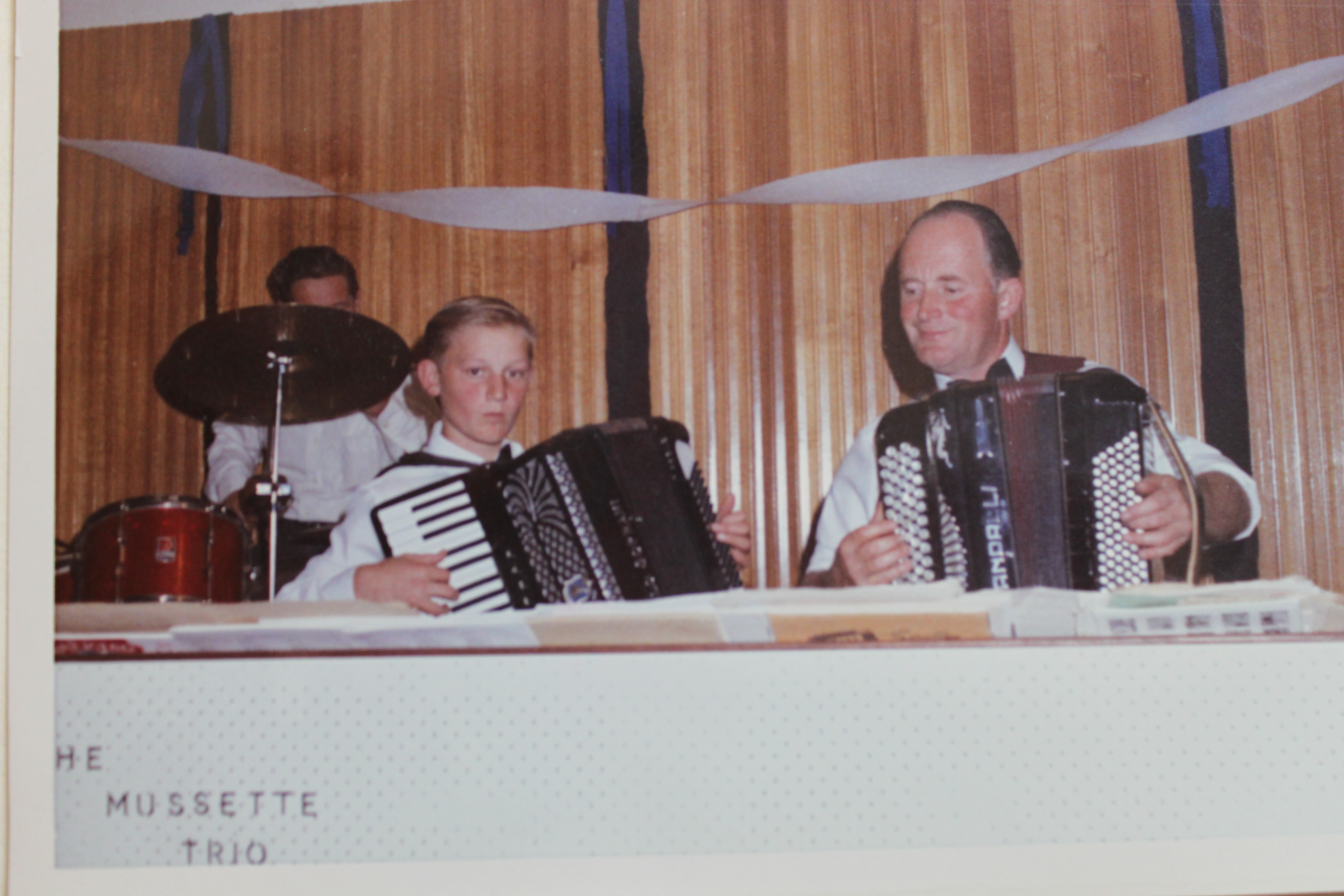 Anton in The Musette Trio 1969
