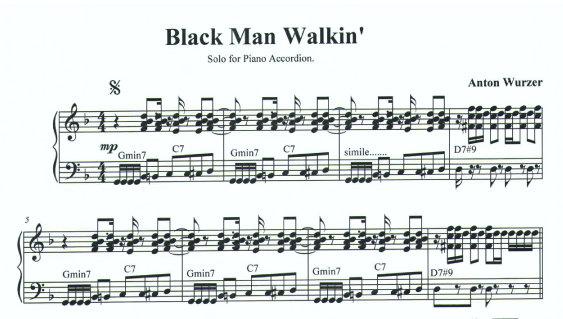 Black Man Walkin