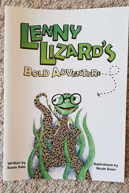 Lenny Lizard's Bold Adventure