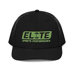 Snapback Trucker Hat (Black/Green)