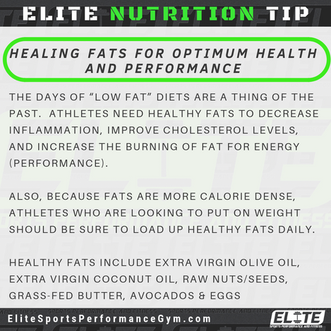 Elite Coaching 🔑  NUTRITION TIP