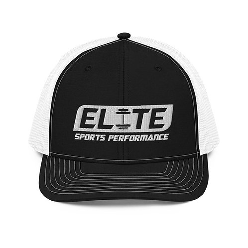 Snapback Trucker Hat (White/Black)