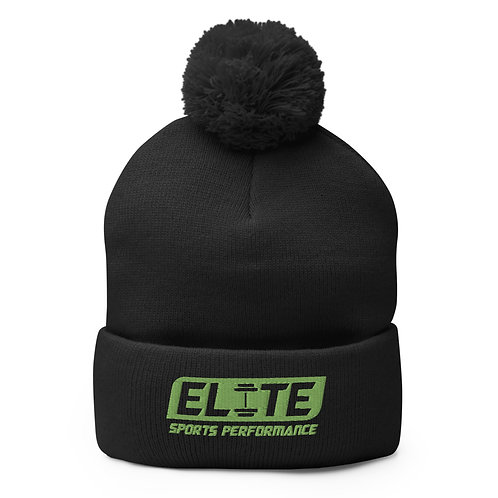Elite Winter Hat (Green Logo)