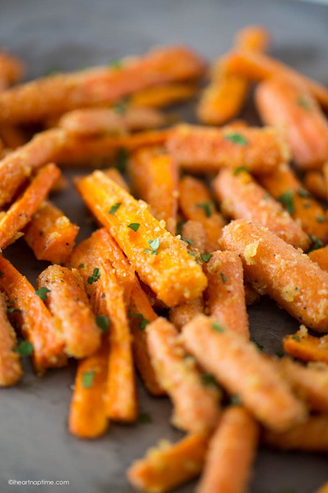 Parmesan Roasted Carrots (servings 8)
