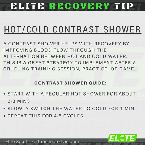 Elite Coaching 🔑  RECOVERY TIP