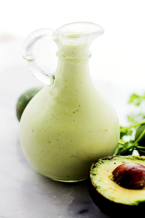 Creamy Avocado-Lime Salad Dressing