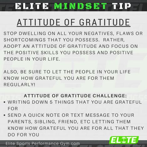 Elite Coaching 🔑  MINDSET TIP
