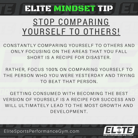 Elite Coaching 🔑  Mindset Key - Stop Comparing Yourself to Others