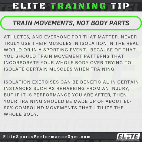 Elite Coaching 🔑  TRAINING TIP