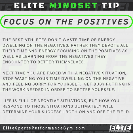 Elite Coaching 🔑  MINDSET TIP