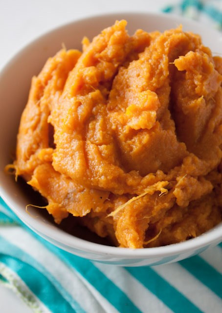Perfect Mashed Sweet Potatoes (servings 6)