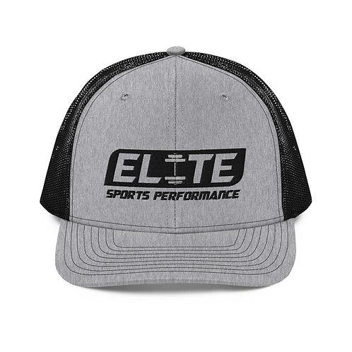 Snapback Trucker Hat (Gray/Black)