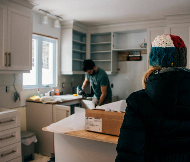Installation - Cuisine