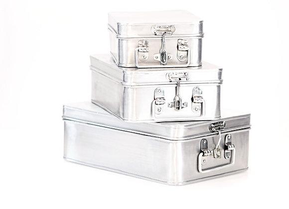 Ensemble de valise métallique