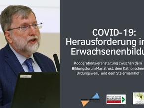 COVID-19: Herausforderung in der Erwachsenenbildung