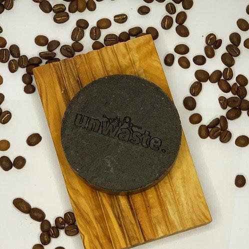 Natürliche Kaffeeseife mit Peelingeffekt
