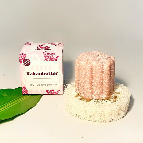 Feste Kakaobutter - Iris & Tonka Bohne