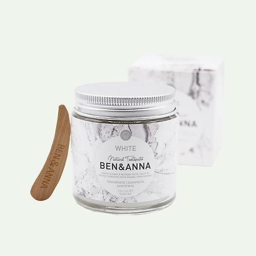 """Zahnpasta aus dem Glas """"White"""" von Ben&Anna"""
