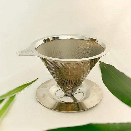 Zero Waste Kaffeefilter aus Edelstahl von Avoidwaste