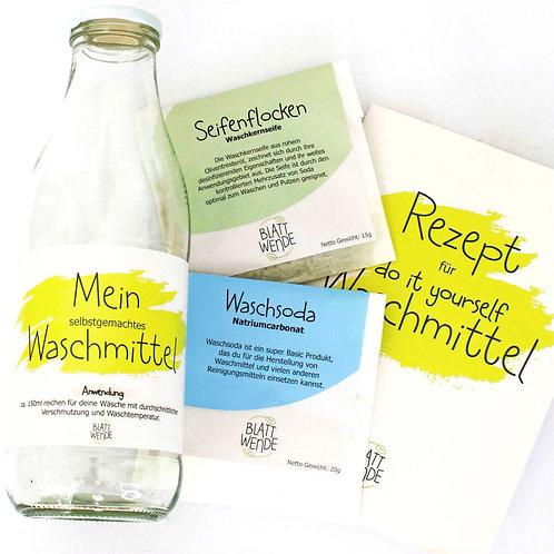 DIY Waschmittel für Einsteiger 1 Liter