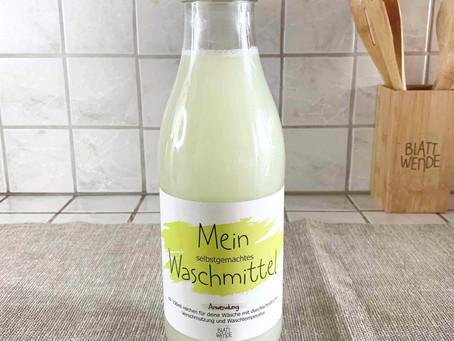 Rezepte für DIY waschmittel