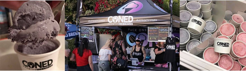 CONED- Craft Beer Ice Cream - Hana Kitchens Orange County - Commercial Kitchens for Rent