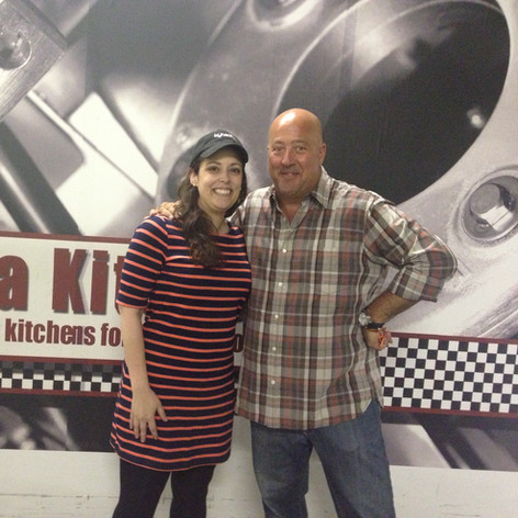 Nicole and Andrew Zimmern