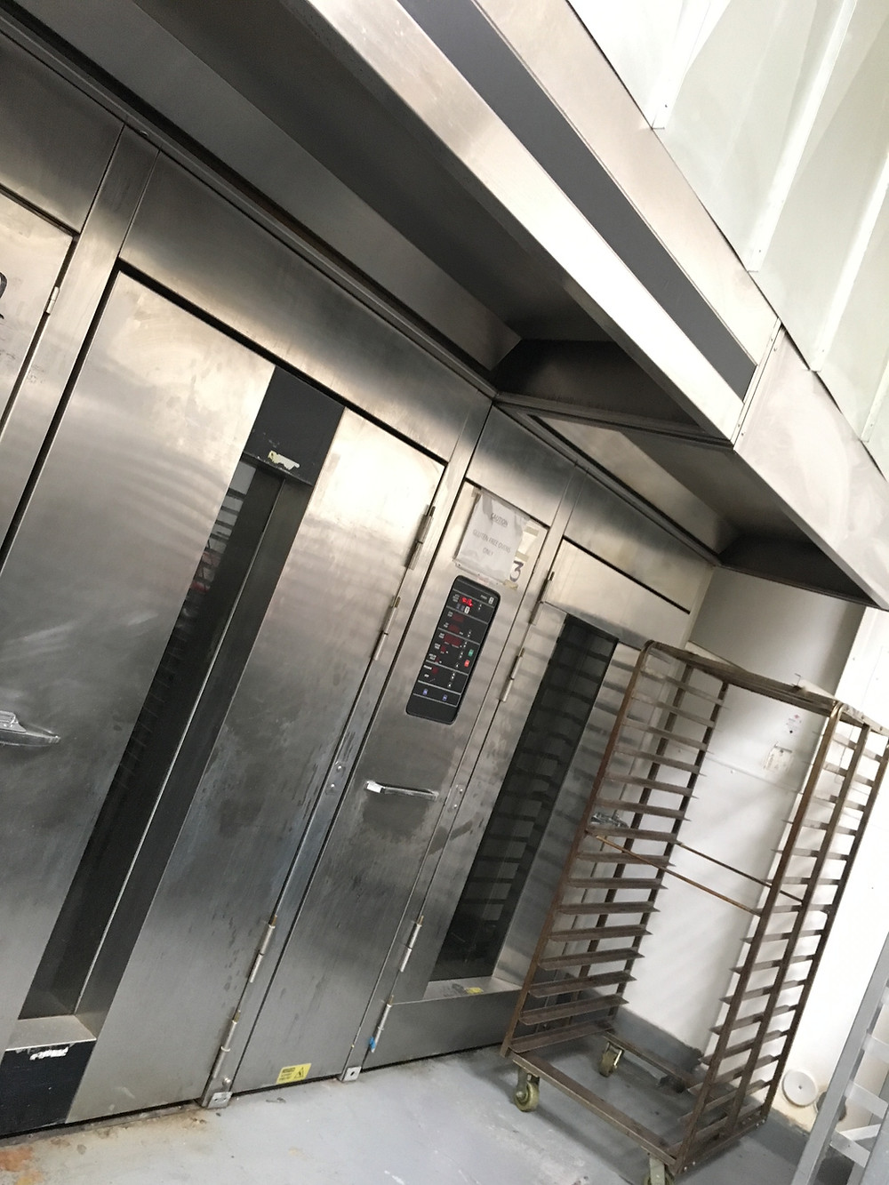 Rack Ovens at Hana Kitchens Orange County - Commercial kitchens for rent
