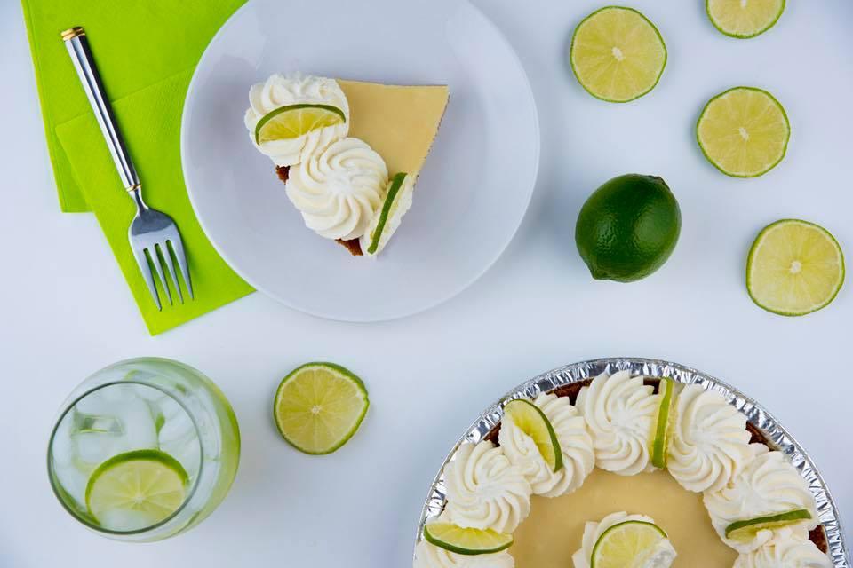 Key Lime Pie - The Pie Bar Long Beach and Glendale - Hana Kitchens Orange County Success Story