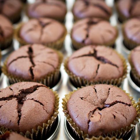 Chocolate Souffle Muffins