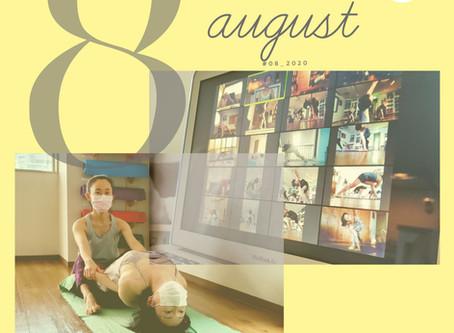 Schedule: 1 ~ 31 Aug