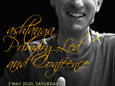 2 May (Sat): Andrew's Led Class & Conference