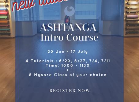 Ashtanga Intro with Kanako