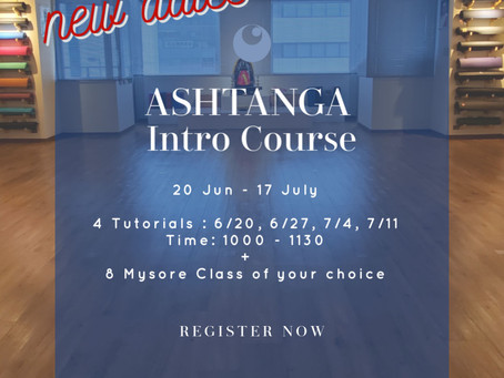 Ashtanga Intro with Kanako