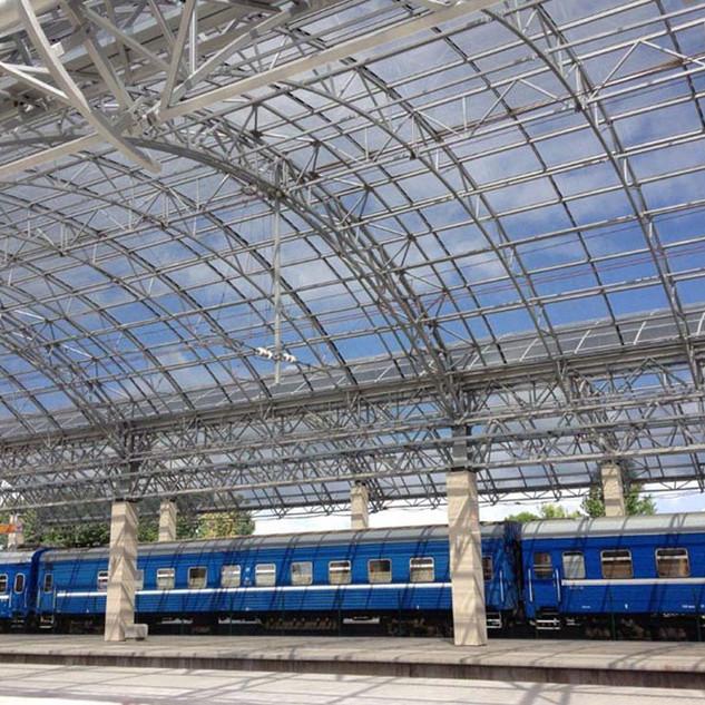 Железнодорожный вокзал г. Бресте