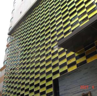Фасад гостиницы, г. Тайпей, Тайвань