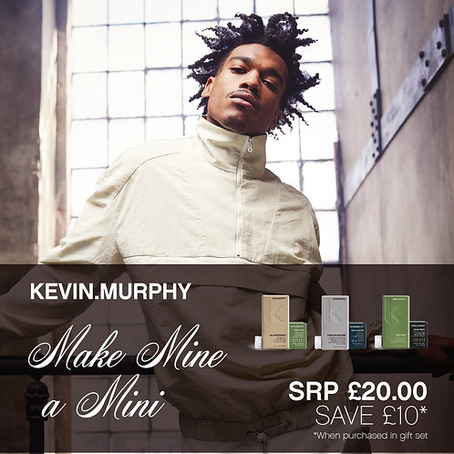 MAKE MINE A MINI By Kevin Murphy - BALANCING WASH & FREE.HOLD STYLING PASTE