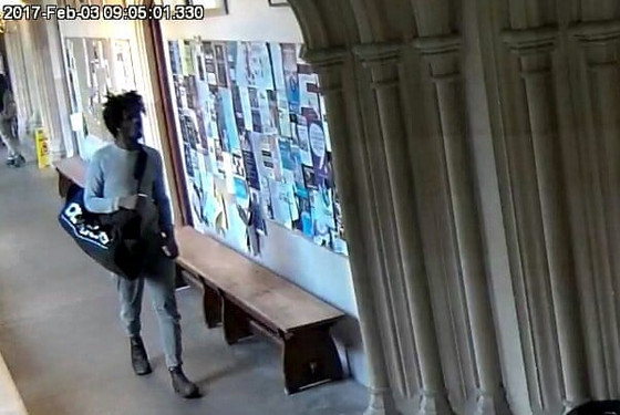 Why did Oxford circulate a criminalized image of me- because I'm a black man?